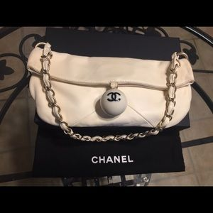Chanel Ball Charm fold over-Rare collectors item